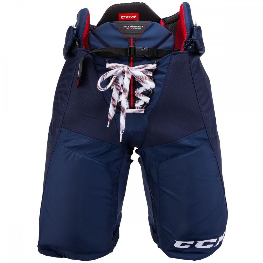 Kalhoty CCM Jetspeed FT390 JR, červená, Junior, M
